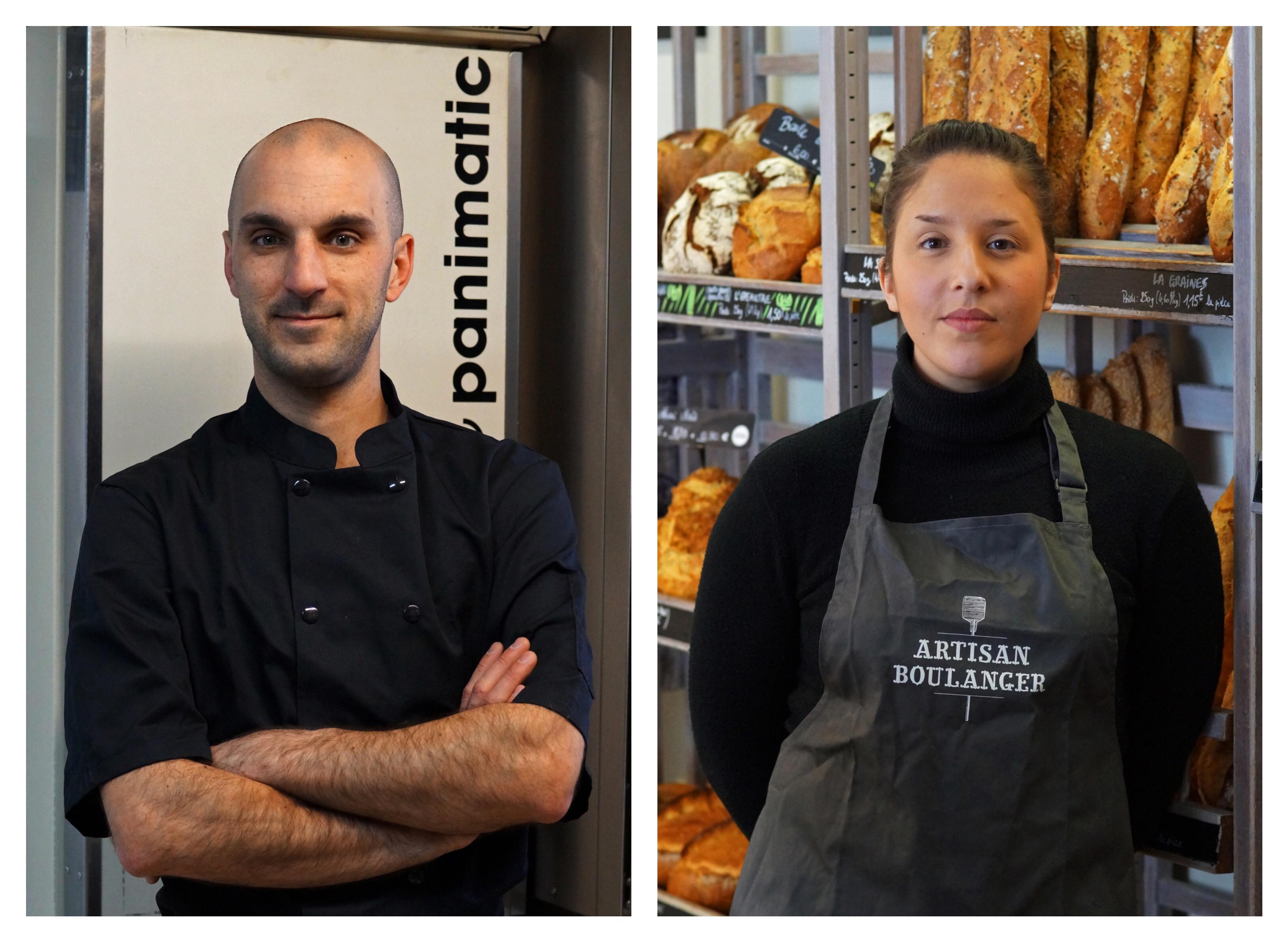 Boulangerie Aux Petites Mains portrait Melody DOUROUNTZIS et Michael FOURNIER