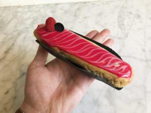 Boulangerie Aux Petites Mains SEMAINE DE L'ECLAIR 2019 framboise litchi