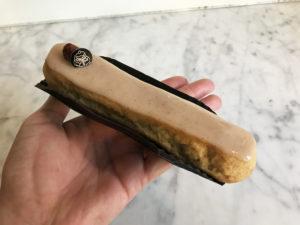 Boulangerie Aux Petites Mains SEMAINE DE L'ECLAIR 2019 chocolat lait noisette