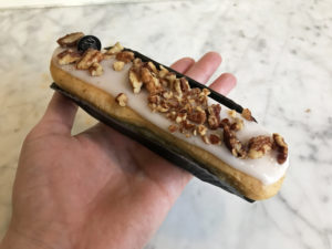 Boulangerie Aux Petites Mains SEMAINE DE L'ECLAIR 2019 Vanille Pécan