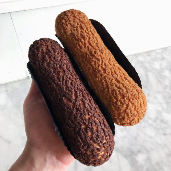 Boulangerie Aux Petites Mains GÂTEAU Eclair chocolat et café version craquelin