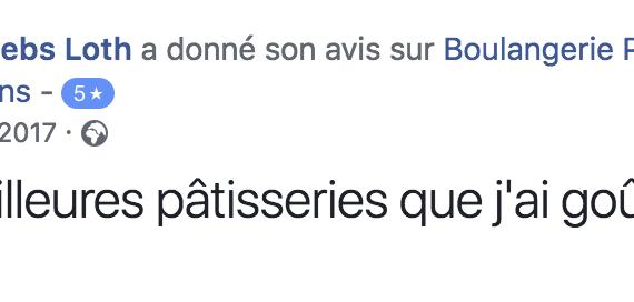 Boulangerie Aux Petites Mains avis FACEBOOK Déborah Debs Loth