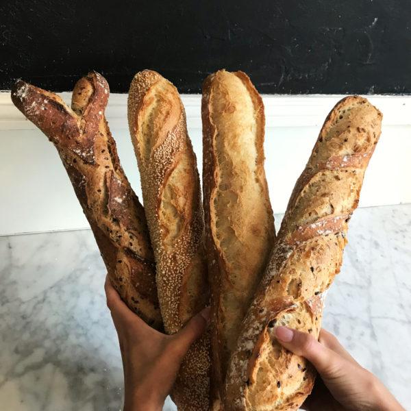 Boulangerie Aux Petites Mains PAIN Trad Graines Sésame Son et Lin