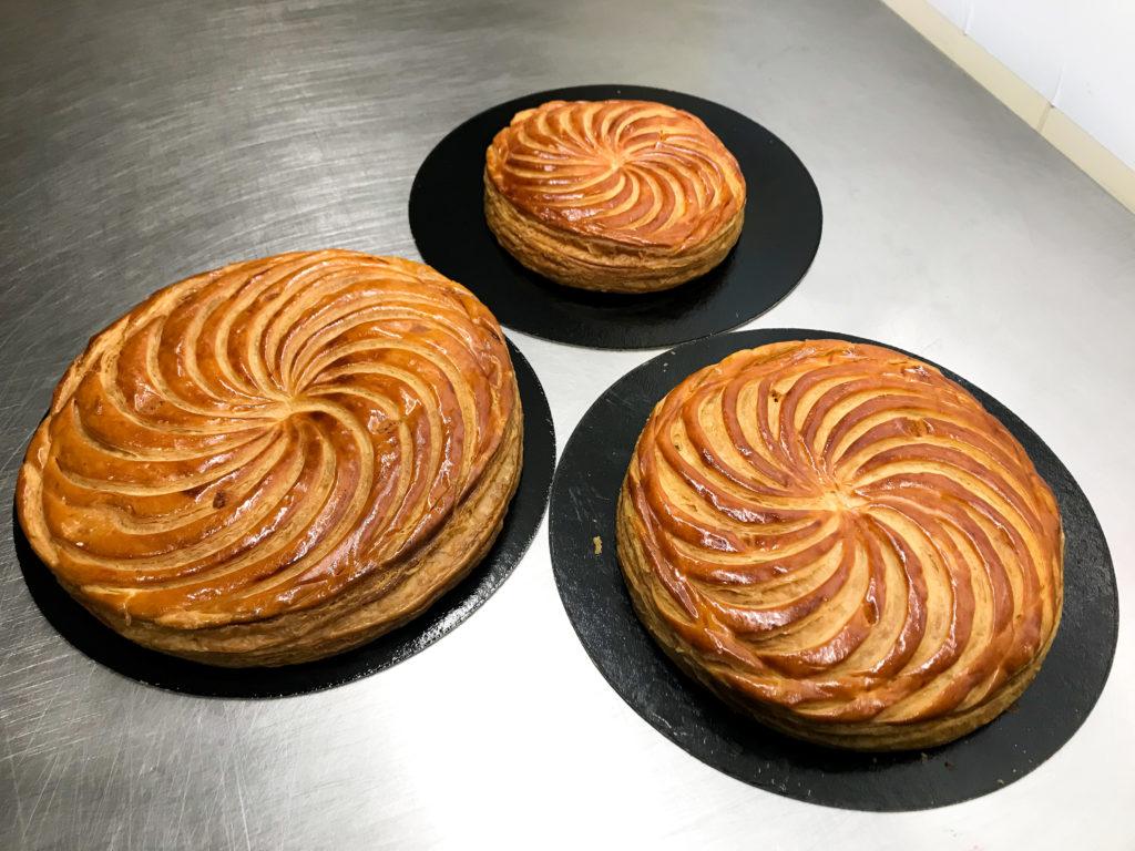 Boulangerie Aux Petites Mains FRANGIPANE 4 6 8 personnes