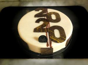 Boulangerie Aux Petites Mains ENTREMET DU NOUVEL AN Vanillat