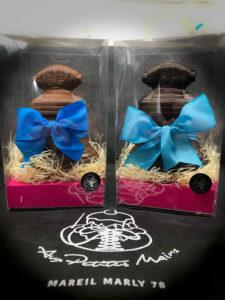 Boulangerie Aux Petites MAINS PÂQUES Cloches en chocolat