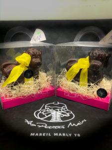 Boulangerie Aux Petites MAINS PÂQUES Vaches en chocolat
