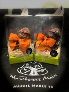 Boulangerie Aux Petites MAINS PÂQUES Poules en chocolat