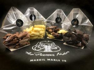 Boulangerie Aux Petites MAINS PÂQUES Fritures en chocolat