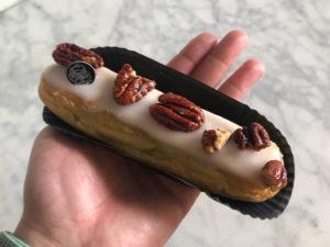 Boulangerie Aux Petites Mains Eclair spécial Vanille / Pécan