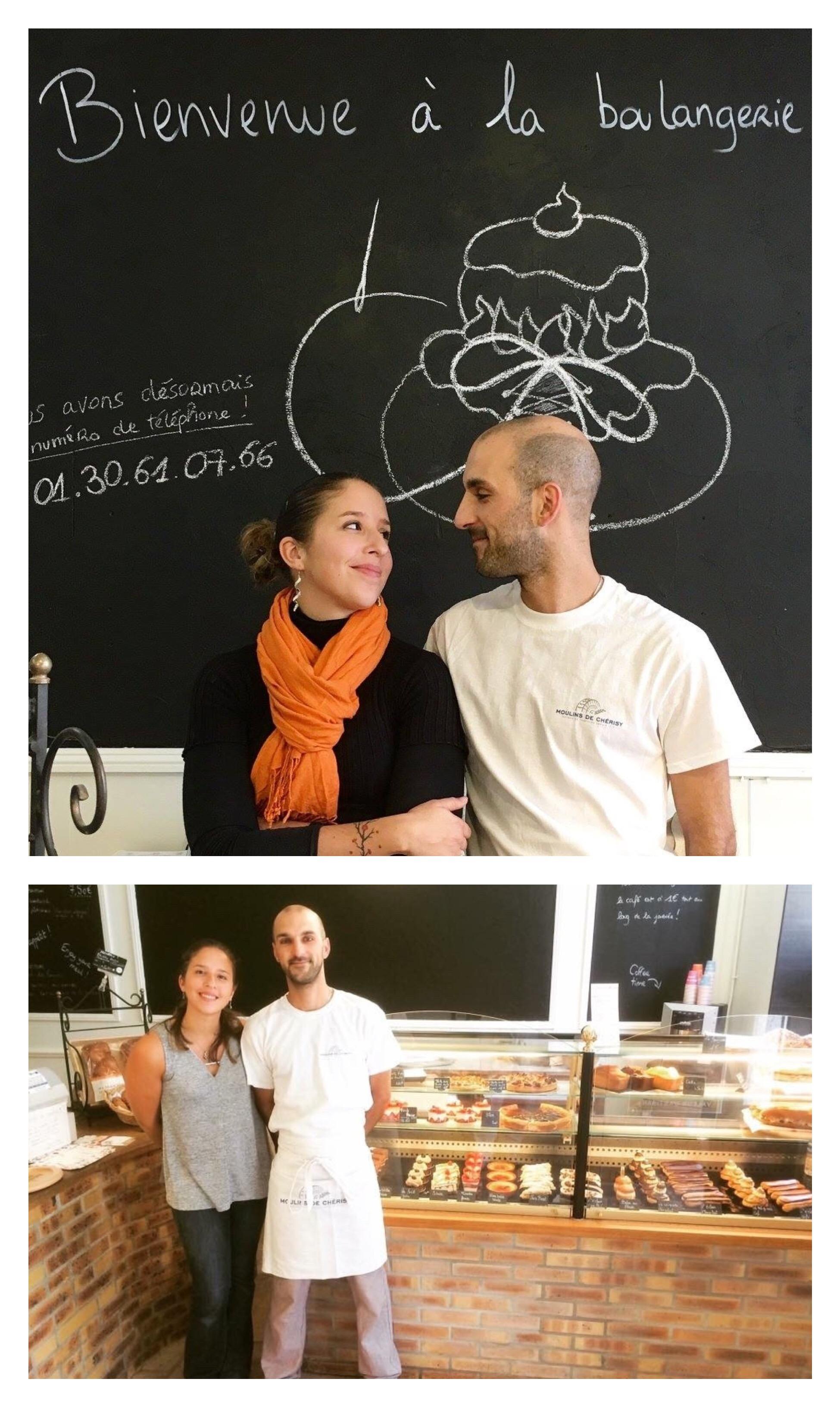 Boulangerie Aux Petites Mains portrait Melody DOUROUNTZIS Michael FOURNIER