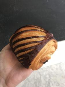 Boulangerie Aux Petites Mains viennoiserie PAIN AU CHOCOLAT