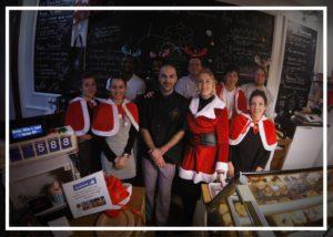 Boulangerie Aux Petites Mains portrait équipe complète voeux 2019