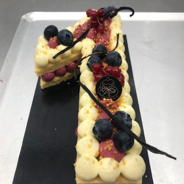Boulangerie Aux Petites Mains NUMBER CAKE